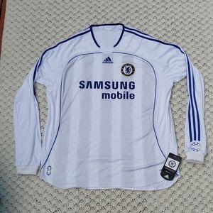 Adidas Chelsea FC Long Sleeve Soccer Jersey